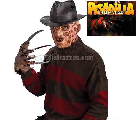 Sombrero de Freddy Krueger para Halloween. Para disfrazarse de Freddy en Pesadilla en Elm Street. También vale como sombrero de Indiana Jones.