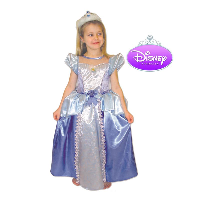Disfraz de la Cenicienta para niña. Talla de 7 a 8 años. Incluye diadema y vestido. Disfraz con licencia Disney ideal para regalar. Éste disfraz es ideal para Carnaval y para regalar en Navidad, en Reyes Magos, para un Cumpleaños o en cualquier ocasión del año. Con éste disfraz harás un regalo diferente y que seguro que a los peques les encantará y hará que desarrollen su imaginación y que jueguen haciendo valer su fantasía.  ¡¡Compra tu disfraz para Carnaval o para regalar en Navidad o en Reyes Magos en nuestra tienda de disfraces, será divertido!!