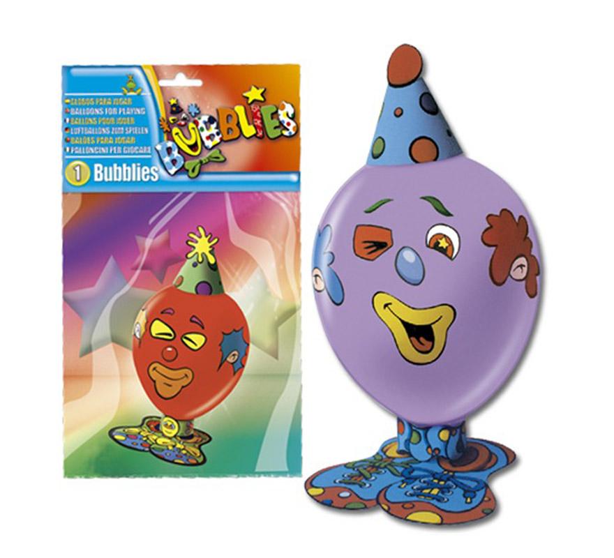Bolsa de 2 globos con montaje para un Payaso de 40x20 cm.