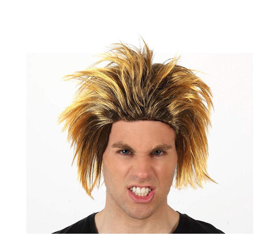 Peluca de Cavernícola o Troglodita. También puede valer como peluca de Punky.