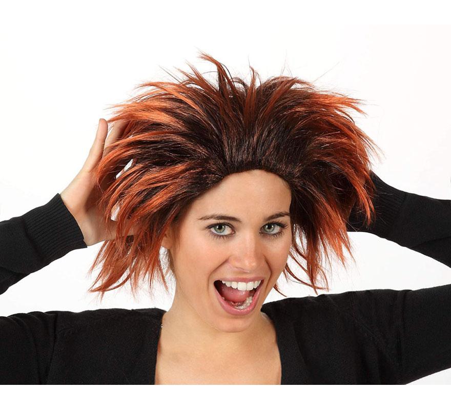 Peluca Cavernícola o Troglodita. También puede valer como peluca de Punky.