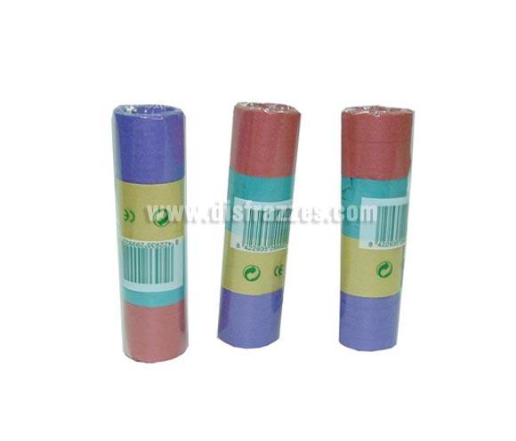 Paquete con 20 rollos de Serpentina de colores variados