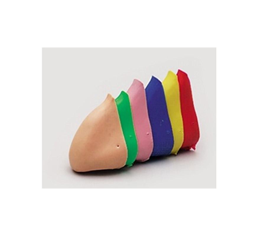Narices de colores grandes con gomita. Se venden por separado.