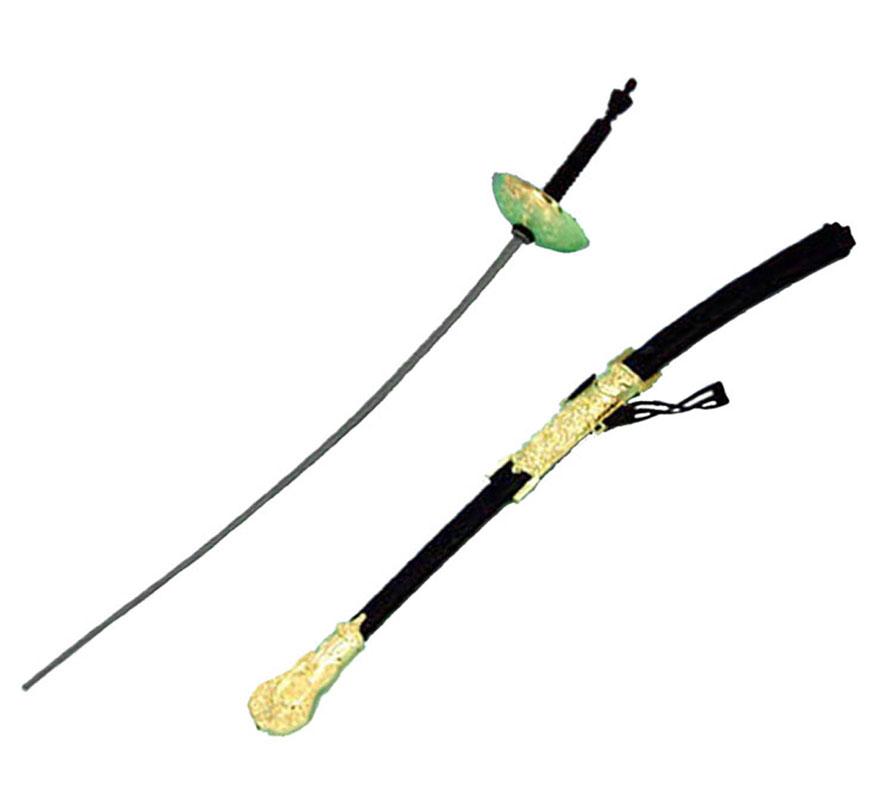 Espada Mosquetero con funda de 71 cm.