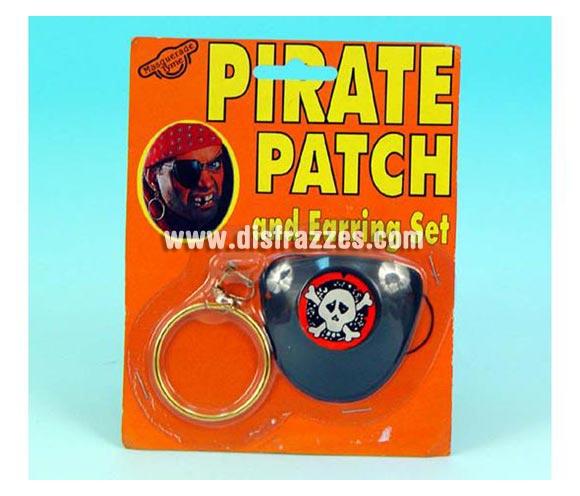 Set parche y pendiente de Pirata.