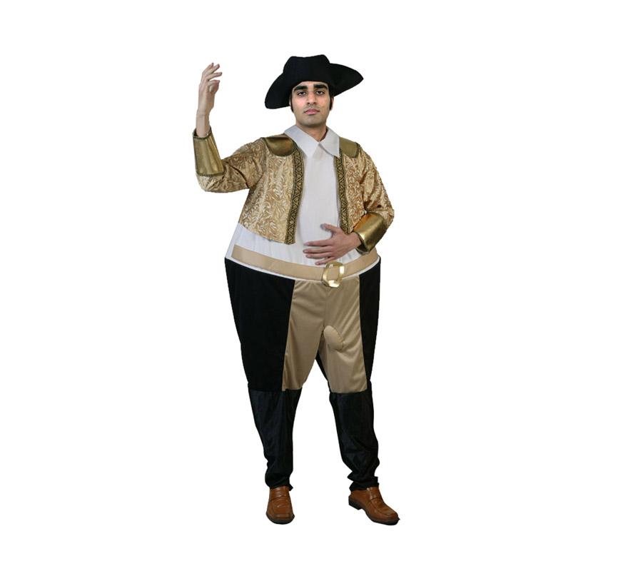 Disfraz de Picador para hombre. Talla M-L 54/58. Incluye disfraz y sombrero. Ideal para Despedidas de Soltero.
