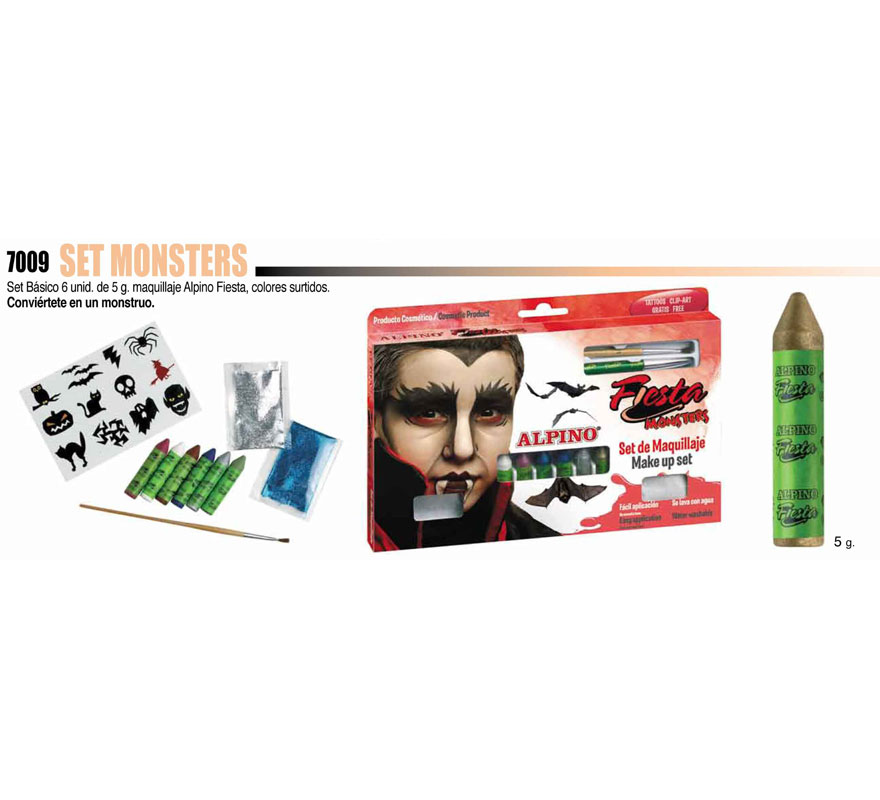Set de maquillaje Monster de ALPINO