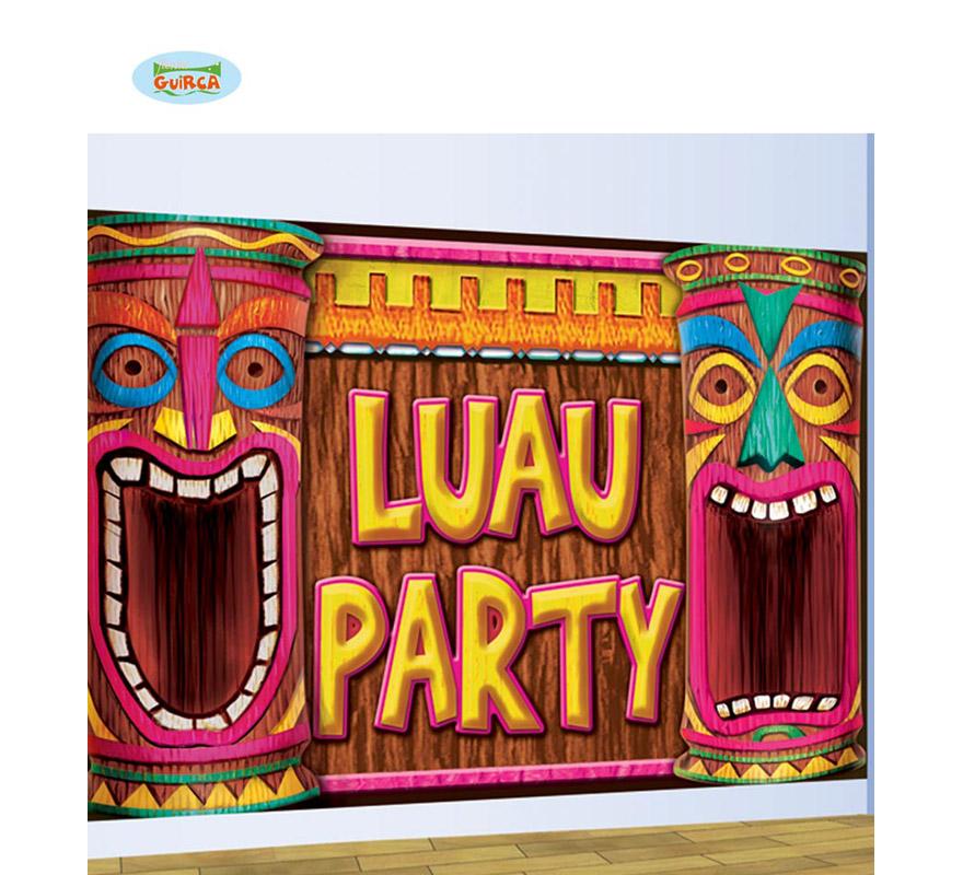 Decoración pared LUAU PARTY. Perfecto para decorción de Fiestas temáticas Hawaianas en la época de verano.