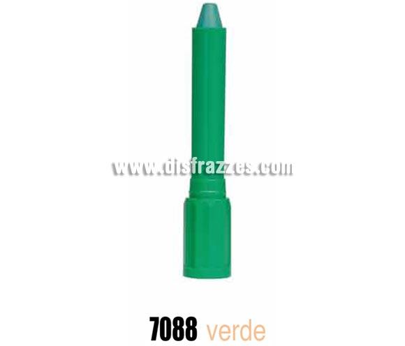 Face stick o barra maquillaje de color verde marca ALPINO. Ideal para Colegios, Guarderías y para Fiestas y Cumpleaños. Producto cosmético. Fácil aplicación, se quita con agua y jabón.