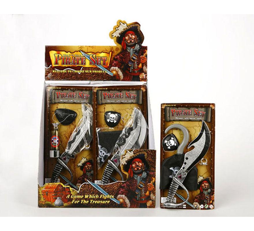 Set de Pirata con accesorios 3 modelos surtidos. Precio por unidad, se venden por separado.