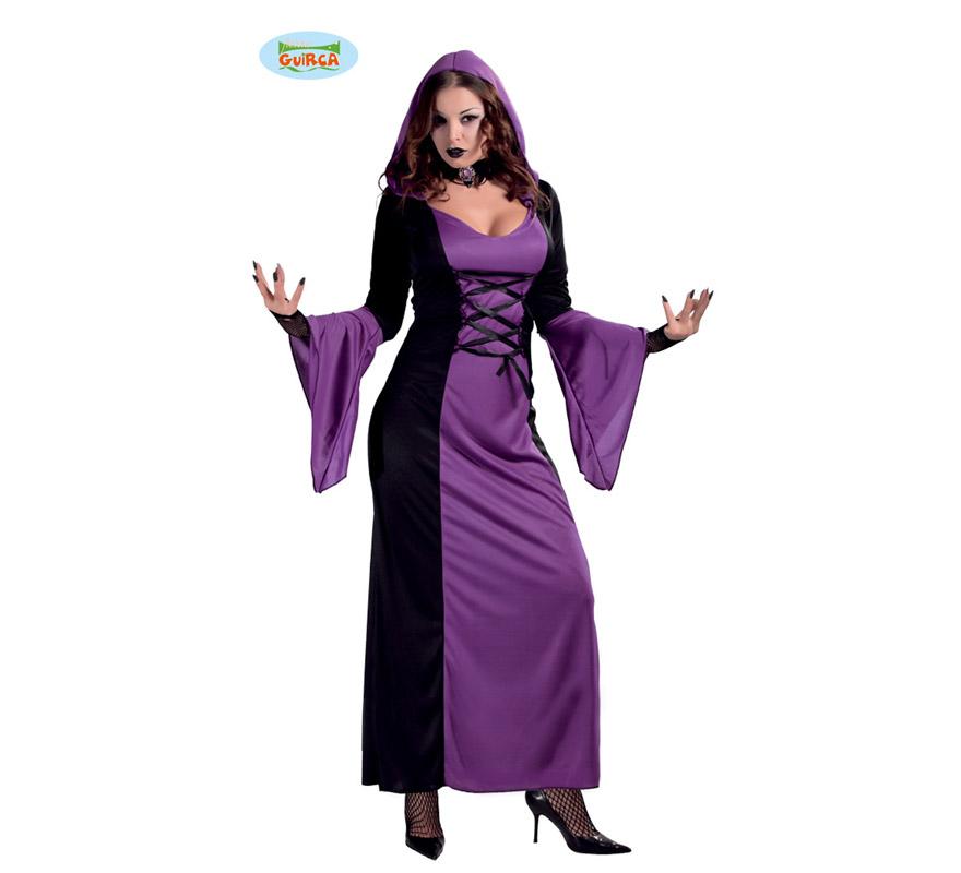 Disfraz barato de Vampiresa para mujer en Halloween