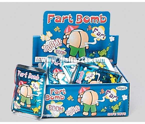 Bomba PUM fétido. A los pocos segundos de presionar el sobre, esplota y hace un olor pestilento. Precio por unidad, se venden por separado.