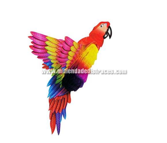 Farol Loro. Este falorillo imita la forma de un loro y con él tu fiesta se llenará de alegría y color.