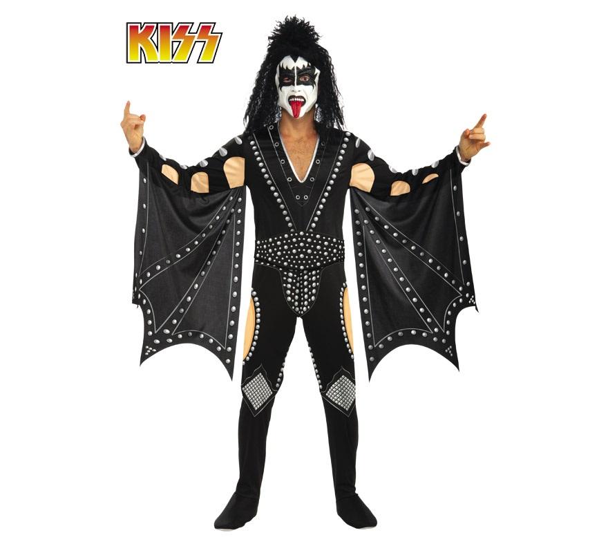 Disfraz barato de KISS Demon para hombre