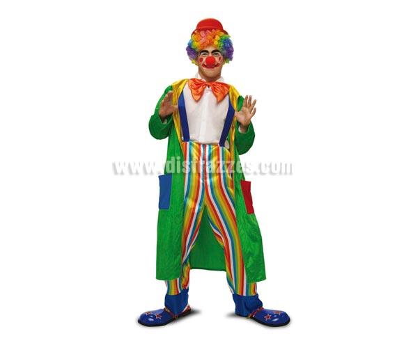 Disfraz barato de Payaso Abrigo para hombre talla M-L