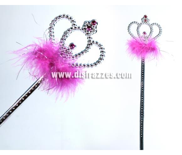 Varita mágica corona. Perfecta para Princesa y Hada Madrina.