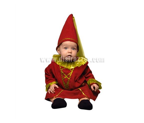 Disfraz barato de Hada Bebé para Carnaval. Talla de 6 a 12 meses. Incluye vestido y gorro.
