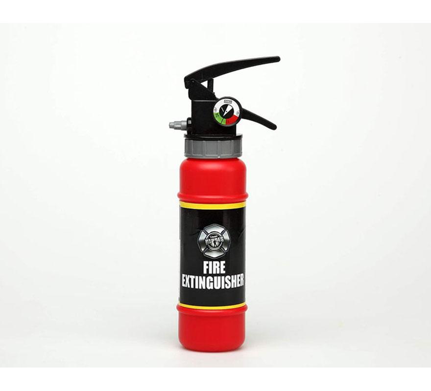 Extintor lanza agua de Bombero de 24 cm
