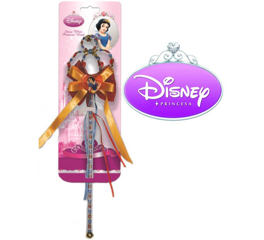 Varita de Blancanieves con licencia Disney. Ideal como regalo en Navidad, Reyes Magos, Cumpleaños o en cualquier fecha del año. Con éste regalo quedarás muy bien y seguro que a los peques les encantará, además hará que desarrollen su imaginación y que jueguen haciendo valer su fantasía. ¡¡Compra tu disfraz o tus complementos para regalar en nuestra tienda de disfraces, será divertido!!