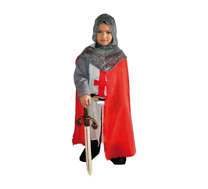 Disfraz barato de Caballero Medieval 7-9 años para niño