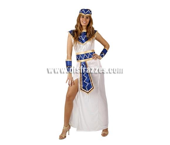 Disfraz de Reina Egipcia para mujer. Talla M-L = 38/42. Incluye disfraz completo tal y como se ve en la imagen.