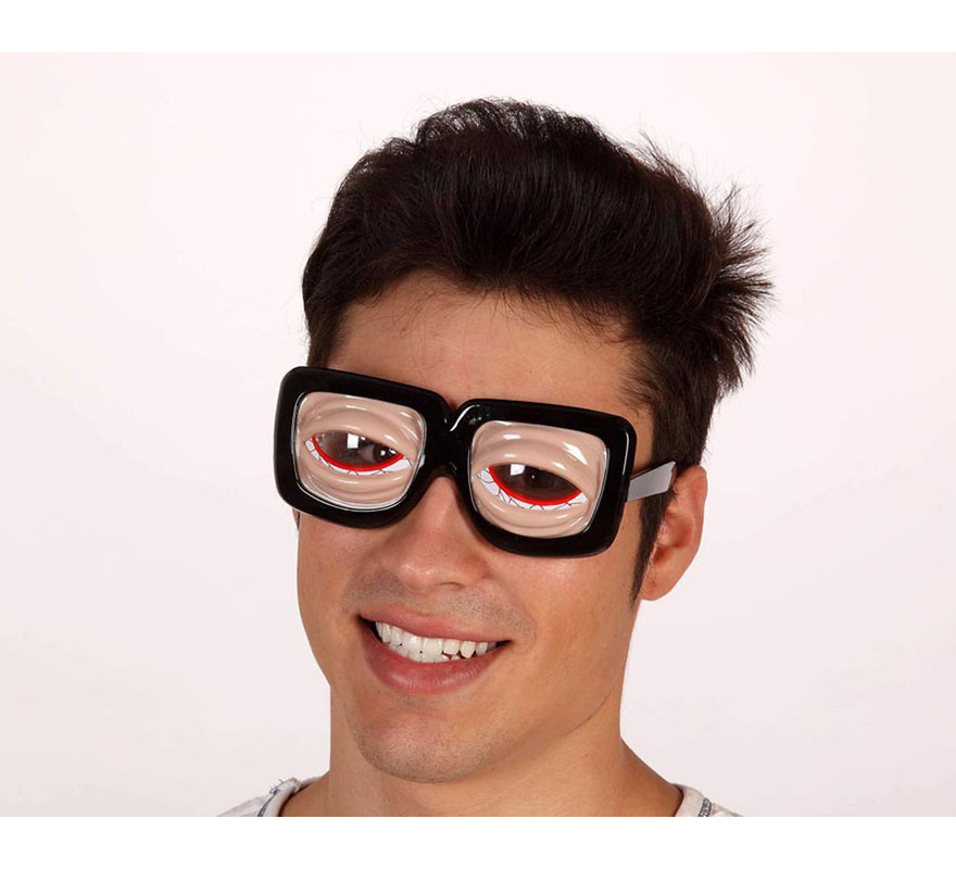 Gafas ojos resacosos