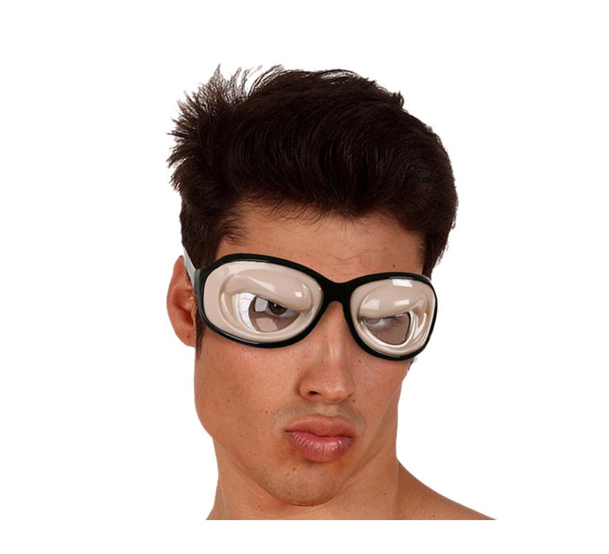 Gafas parpados hinchados.