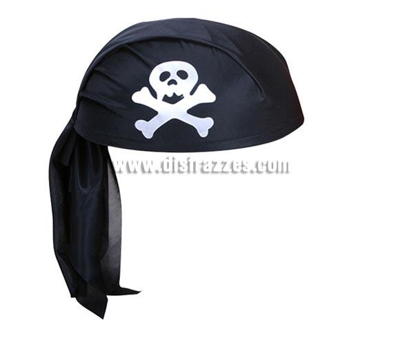 Bandana negra de Pirata.