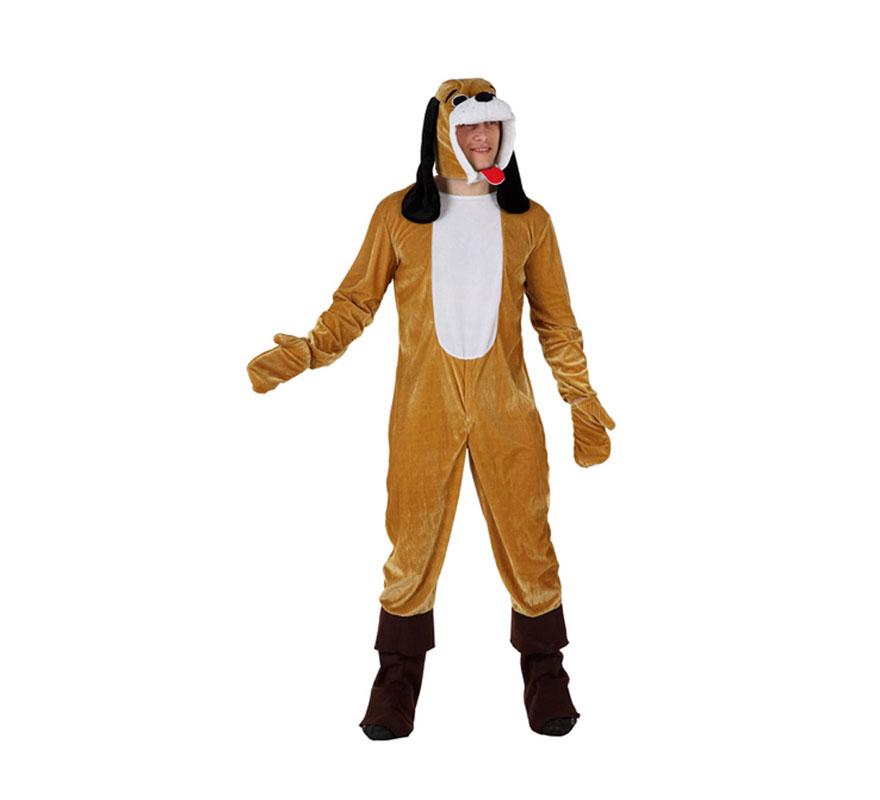 Disfraz de Perro Pachón para hombre. Talla 3 ó talla XL = 54/58. Incluye mono, guantes y gorro.
