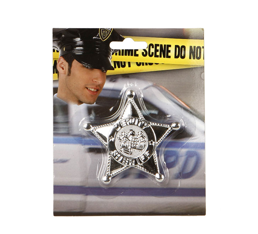 Estrella de Sheriff del Oeste.