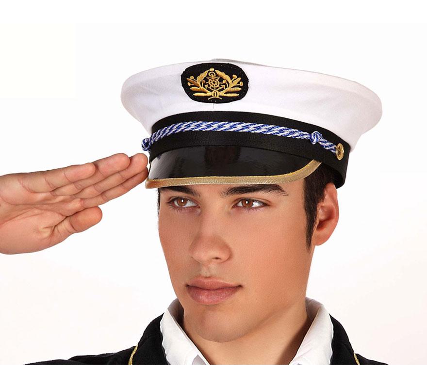 Gorra de Capitán de Barco.