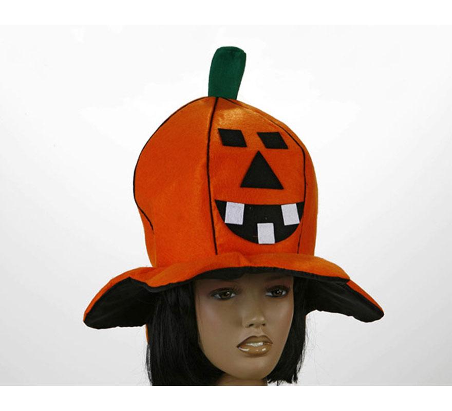 Sombrero Calabaza para Halloween.