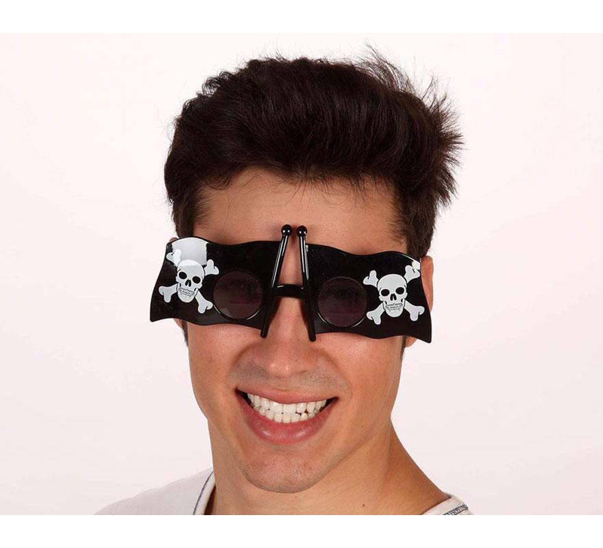 Gafas con forma de bandera Pirata.