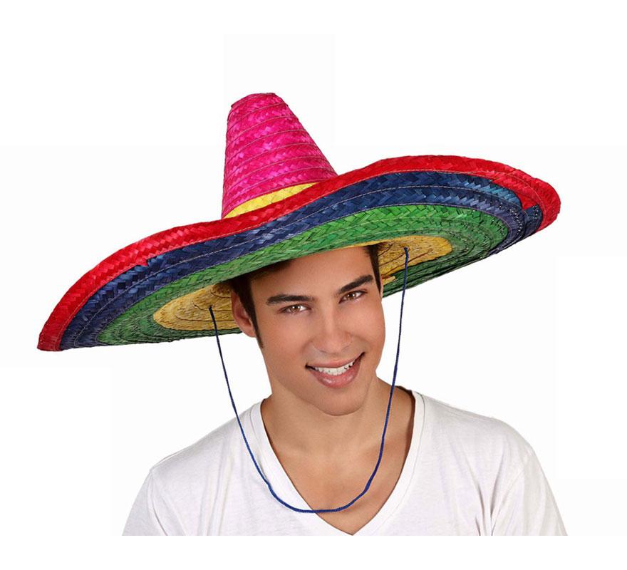 Sombrero Mejicano de 58 cm diámetro, ala 19 cm.