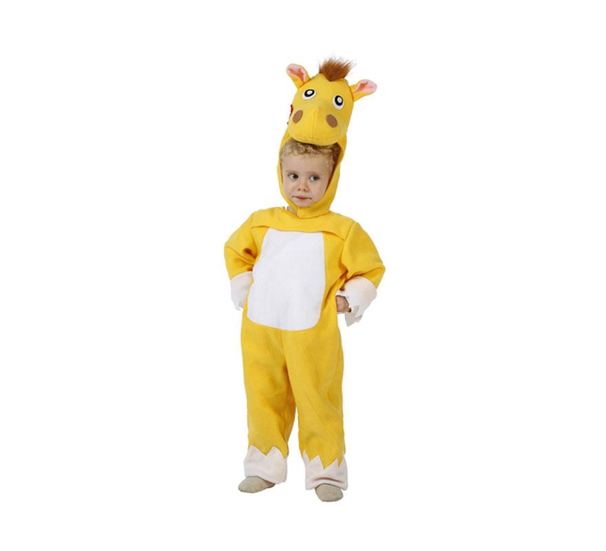 Disfraz de Caballo para niños de 12 a 24 meses. Precioso y original disfraz con el que el niño estará de foto. Incluye disfraz completo.