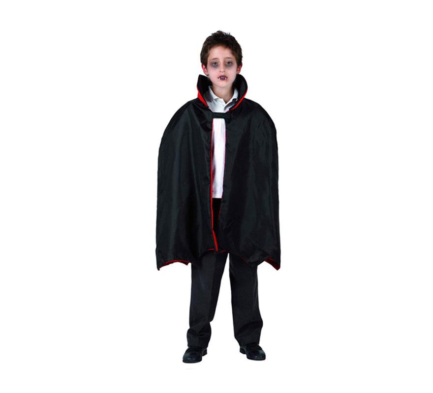 Capa de Vampiro infantil para Halloween.