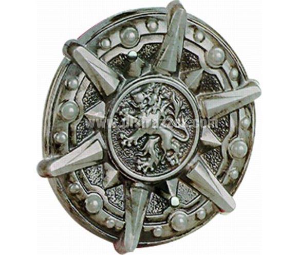 Escudo Medieval infantil Deluxe. De plástico resistente.