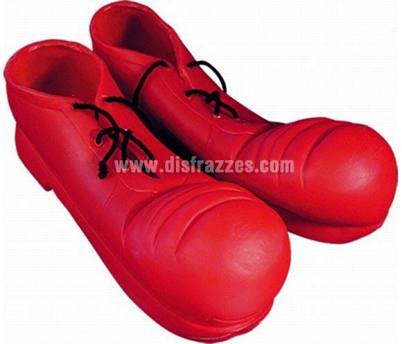 Zapatos de Payaso deluxe. Alta Calidad. Disponible en varios colores. Talla única de adultos.