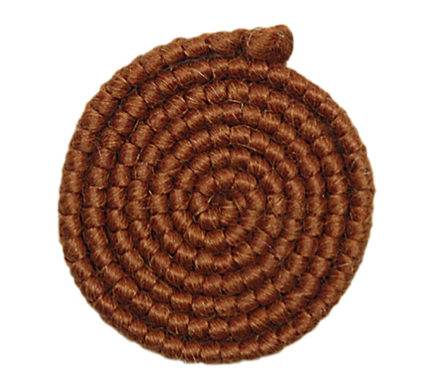 Crepe de lana CASTAÑA para barbas y postizos