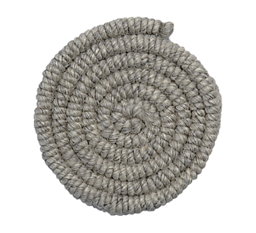 Crepe de lana GRIS CLARO para barbas y postizos