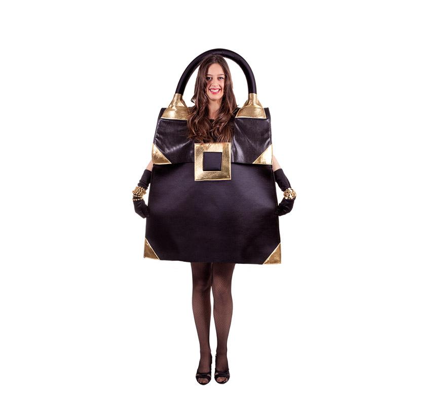 Disfraz de Bolso negro para adultos. Talla Universal de adultos. Incluye disfraz de Bolso de color negro. ATENCIÓN GRUPOS Y COMPARSAS, podemos sacar el precio para hacerlo en distintas edades para niños, pero siempre un mínimo de 6 uds. por talla.