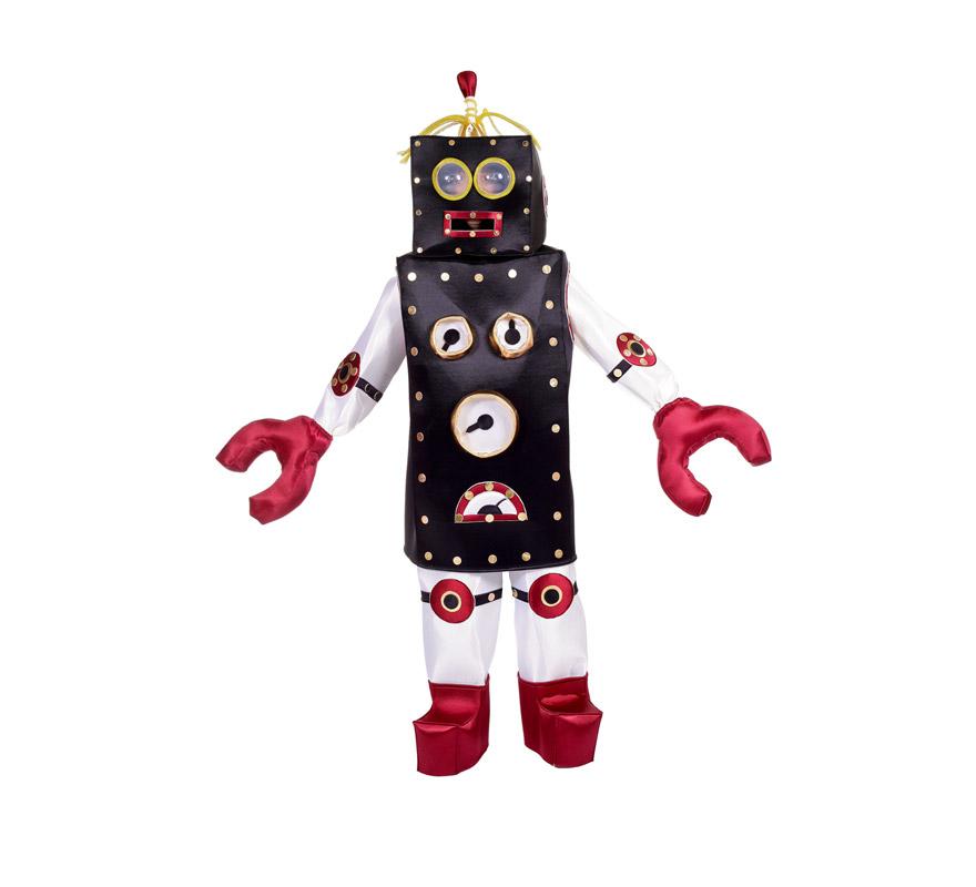 Disfraz de Robot VALVULINA para mujer. Talla Universal. Incluye disfraz completo. Alta calidad, fabricado en España.