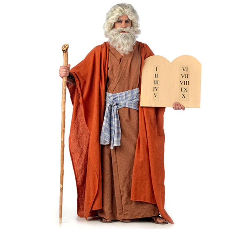 Disfraz de Jesucristo Extraluxe para hombre. Alta calidad, hecho en España. Disponible en varias tallas, Incluye túnica, toga y mantón.