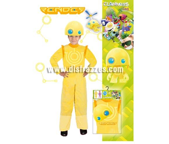 Disfraz barato de Render de LOS CLANNERS Clan para niños