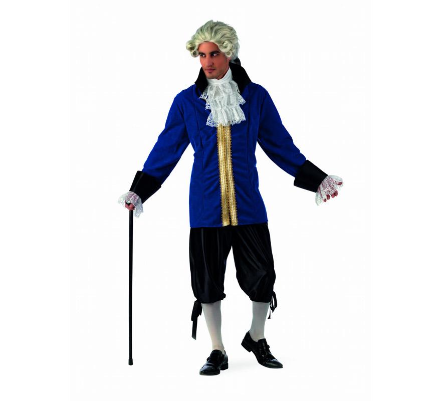 Disfraz Caballero de Época Philippe Deluxe hombre
