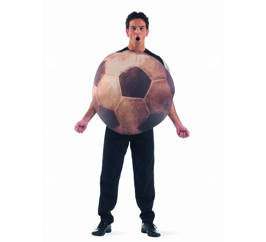Disfraz de Balón Deluxe para hombre. Alta calidad, hecho en España. Disponible en talla L. Incluye disfraz de balón. Pantalones No Incluidos.
