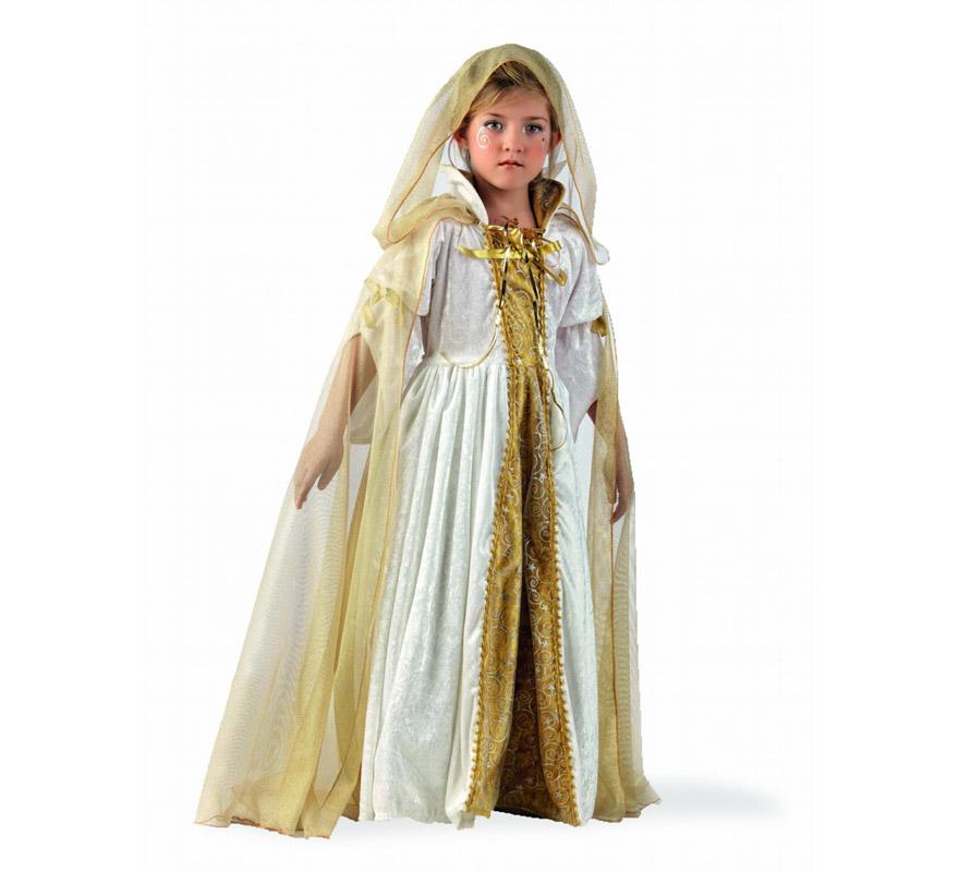 Capa de Princesa Alice Deluxe para niña. Alta calidad, hecho en España. Disponible en varias tallas. Incluye capa. Ideal para el disfraz con referencia MI754LI.