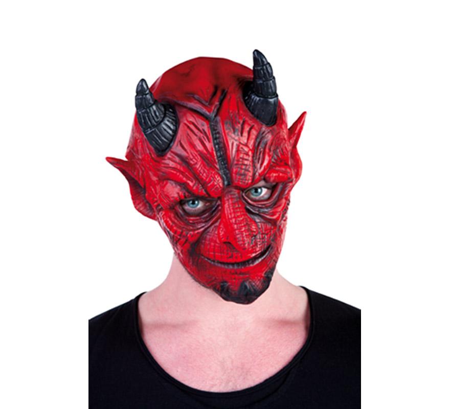 Máscara de Diablo o Demonio amoldable para Halloween.