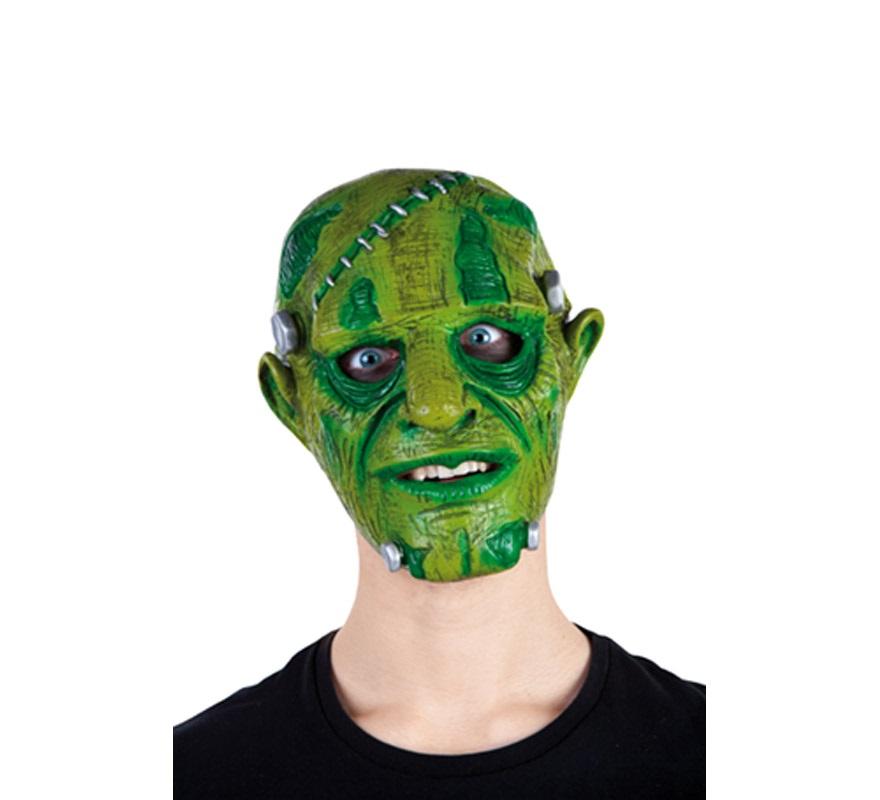 Máscara de Frankenstein amoldable para Halloween.