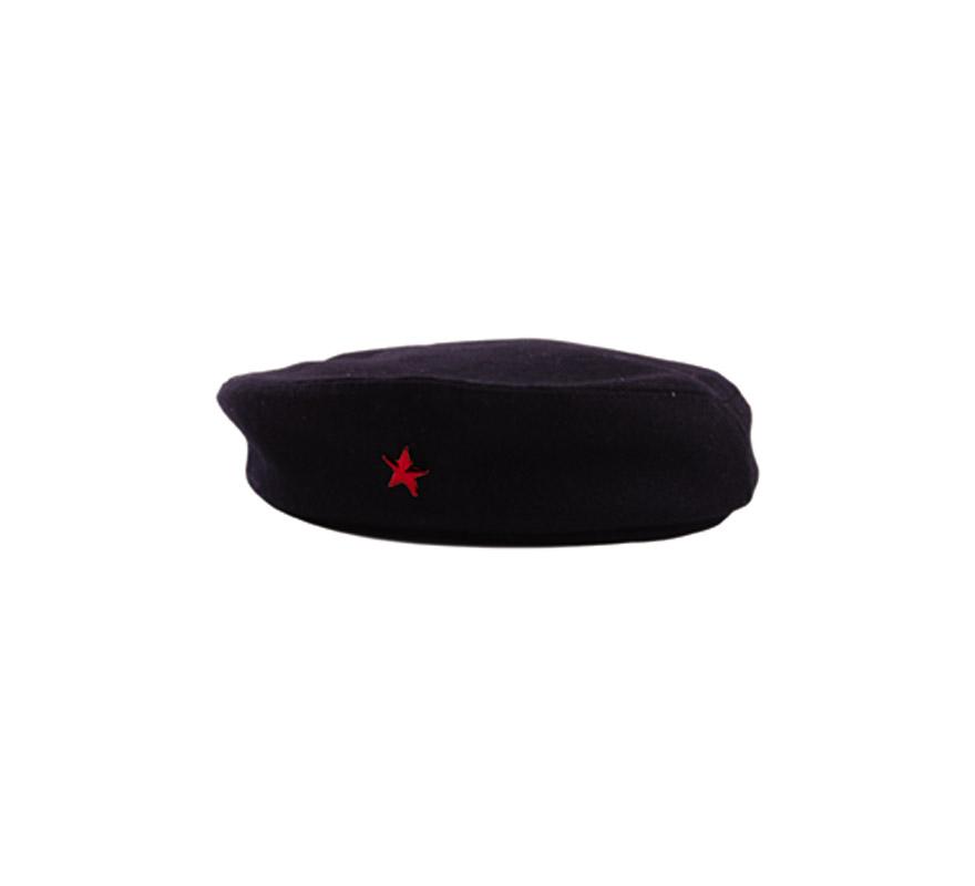 Gorra del Ché negra.